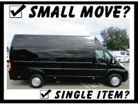 Friendly & Reliable Man and Van Service Available For Single Items & Small Moves - 7 Days A Week