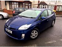 2010 TOYOTA PRIUS 1.8 T3 AUTOMATIC HYBRID ELECTRIC LOW MILEAGE USE UBER PCO NOT INSIGHT INSIGNIA