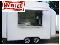 Catering Trailer WANTED FOR CASH