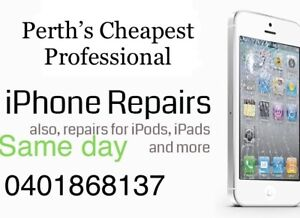 Perths Cheapest Professional iPhone and iPad,Laptop repairs