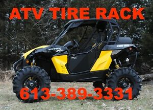 "Can-Am Maverick 3"" Lift Kit Lowest Price ATV TIRE RACK CANADA"