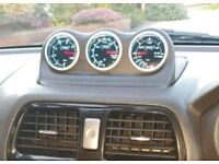Subaru impreza newage prosport gauges and dash pod