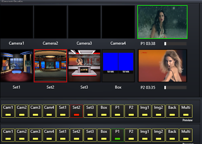 Video Live Broadcasting Software with Video switcher mixer green screen  removal | Shopping Bin - Search eBay faster