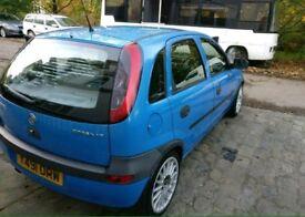 Vauxhall corsa 1.2 quick sale or swap