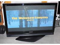 "Panasonic TH42PX70BA 42"" Plasma Television with TY-ST42DW-WK Stand. Boxed in fantastic condition."
