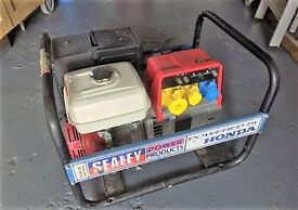 SEALEY GENERATOR POWERED BY HONDA
