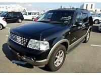 FORD EXPLORER 4.6 EDDIE BAUER AUTOMATIC * 7 LEATHER SEATS 4X4 ONLY 54000 MILES
