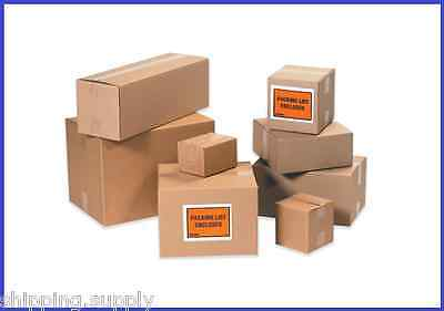 25 Pack Corrugated Cardboard Shipping Boxes Small 3 - 6 - 49 Sizes Available