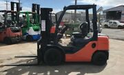 Toyota 2.5 Tonne Diesel Container Mast Forklift Melbourne CBD Melbourne City Preview