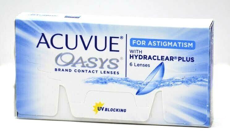 Acuvue Oasys Hydraclear PLUS6 BC 8.6 DIA 14.5 2-Wochen-Kontaktlinsen Ausverkauf