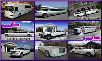 Mississauga Wedding Limos - Prom Limousines - Party Buses