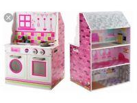 Chad Valley dolls house/kitchen