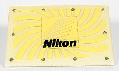 NIKON BLUE FLASHING LIGHT SIGN MINI 2 1/4 INCHES LONG