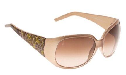 c12cb5d23b66 Fendi brown FS440 limited edition embellished sunglasses ...
