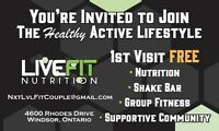 Join our healthy active lifestyle community!!!