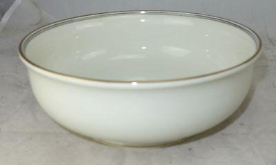 Langenthal Porzellan Elfenbein mit Goldrand Schale Schüssel 22 cm