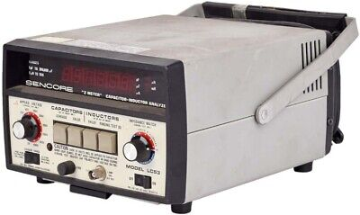 Sencore Lc53 Z Meter Portable Benchtop Capacitor Inductor Analyzer Unit