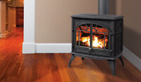 Gas, Pellet and Wood Fireplace installation Services