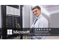FREE - Fully funded Microsoft Server 2012 (part 1) training course