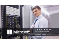 Free (fully funded by SAAS) MCSA Server 2012 (Part 1) Course - Part time course in Glasgow
