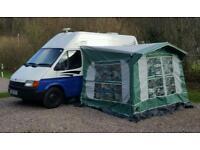 Awning for Campervan or caravan