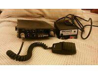 Radiomobile CB-202 UK 40 Channel FM CB Radio with power supply