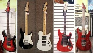 Used and Vintage electric guitars and basses