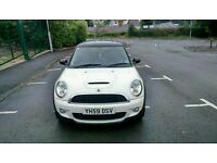 2009 mini cooper s 1.6 years mot 58k xennon 17 alloys