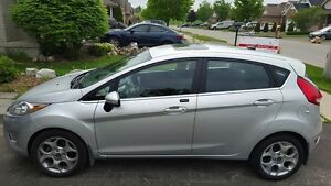 2013 Ford Fiesta Titanium Hatchback, Leather and Sunroof