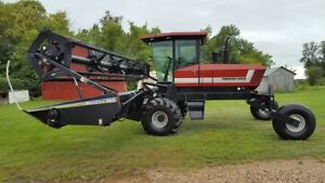 Macdon Premier 2920 swather with roller