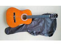 (G4) Acoustic Guitar 3/4 size by Lauren.