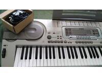 KB3 Keyboard Casio 76 Touch sensitive keys.
