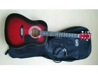 (G5) Acoustic Guitar Full size by Falcon.