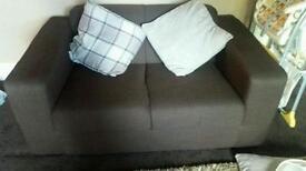 Hygena new Eva large and compact fabric sofa's
