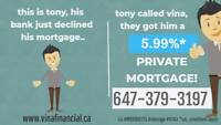 +5.99% PRIVATE MORTGAGE FOR PURCHASES!