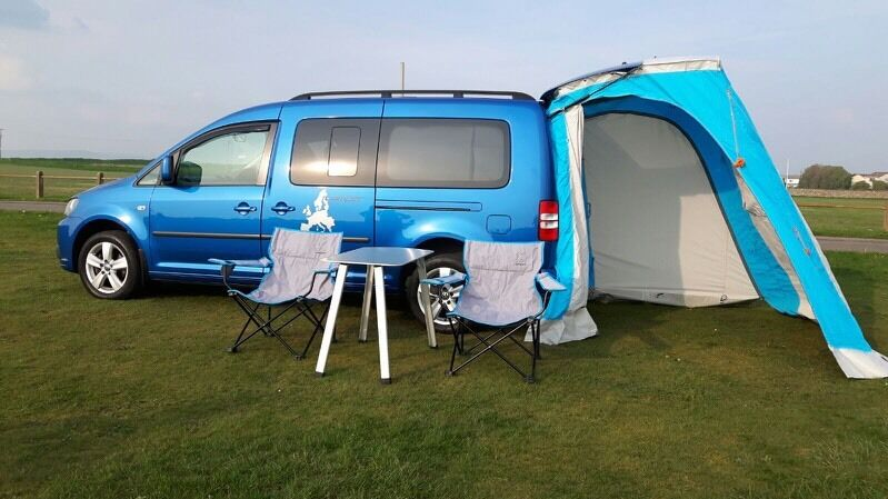 vw caddy camper maxi life in port talbot neath port. Black Bedroom Furniture Sets. Home Design Ideas