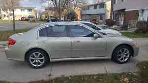 2006 Infiniti G35x - AS IS - Includes winter tires!