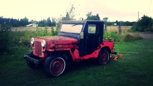 1960 willy jeep and tractor. $700 for both
