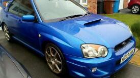 Subaru impreza WRX, race dynamix remapped. 290bhp. £4050