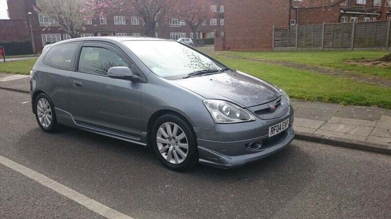 honda civic 2004 cosmic grey 1 6 sport vtec type r replica. Black Bedroom Furniture Sets. Home Design Ideas