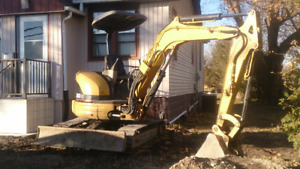 Cat 2004 303 CR Mini Excavator