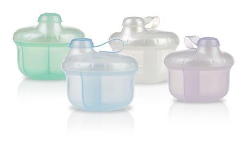 Nuby Powder Formula Dispenser - 0+ Months - 3 Compartments - BPA Free
