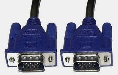 CABLE VGA MACHO a VGA MACHO 1,5 m 15 PINES SVGA MONITOR...