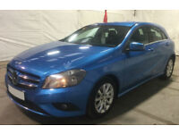 BLUE MERCEDES-BENZ A180 1.5 CDI SPORT AMG LINE A200 A220 1.8 FROM £41 PER WEEK