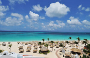 Aruba Costa Linda Best Beach 2 Bedroom 2Ba TopFloor