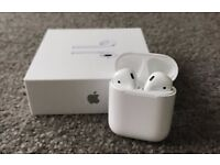Airpods - With box and unused accessories