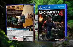 Uncharted 4 mint new