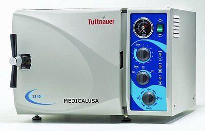 Brand New Tuttnauer 2340m - Autoclave Sterilizer With 1 Year Warranty 9x18