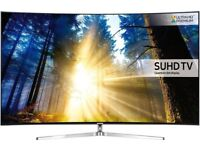 Samsung ue55ks9000 4k HDR UHD Tv and Matching Soundbar.