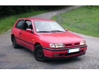 Nissan sunny wanted Spares or Repairs